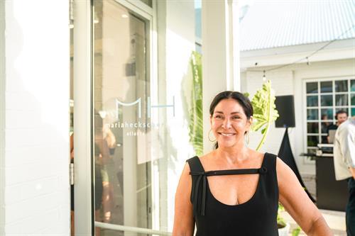 Salon owner Maria Heckscher.