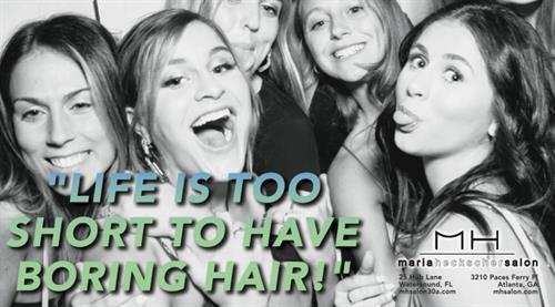 Life is too short to have boring hair.