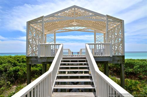 Private Pavilions in Seaside, FL