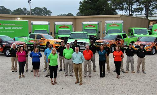 Our Local SERVPRO Staff & Crew