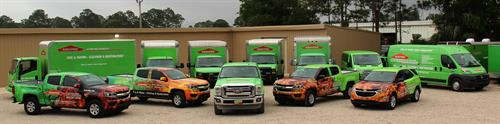 Our SERVPRO Fleet is Ready for Whatever Happens