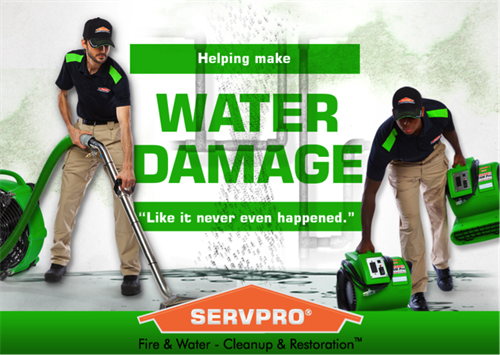 SERVPRO Water Damage Professionals 24/7