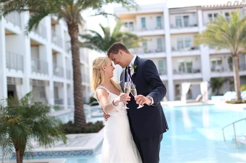 The resort makes the perfect backdrop for life's most precious memories