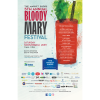 The Market Shops 5th Annual Bloody Mary Festival Set for November 2, 2019