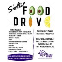 Shelter House Encouraging Community Support for Pantry Items