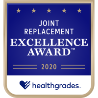 Fort Walton Beach Medical Center is a FIVE-STAR Recipient for their Excellence in Joint Replacement