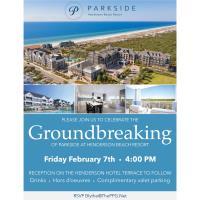 Parkside at The Henderson Beach Resort Hosts Groundbreaking Ceremony