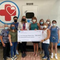 POINT WASHINGTON MEDICAL CLINIC RECEIVES $250,000 FROM THE ST. JOE COMMUNITY FOUNDATION