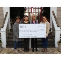 Café Thirty-A Raises $22,530 for Caring and Sharing of South Walton