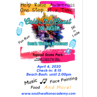 South Walton Academy to Host Inaugural Color the Coast for Autism 5K and Fun Run