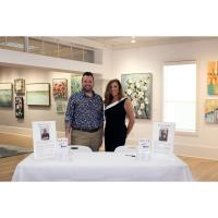 First-Ever Sip N' Stroll Event at J.Leon Gallery + Studio a Huge Success