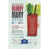 The Market Shops Sixth Annual Bloody Mary Festival Set for October 23, 2021