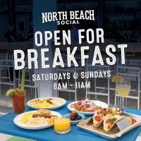 North Beach Social Open For Breakfast Saturdays & Sundays 8am-11am