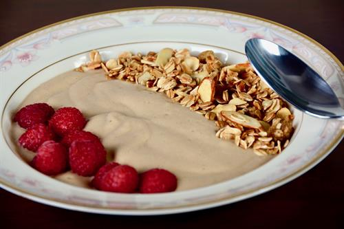 Healthy options  - protein smoothie bowl