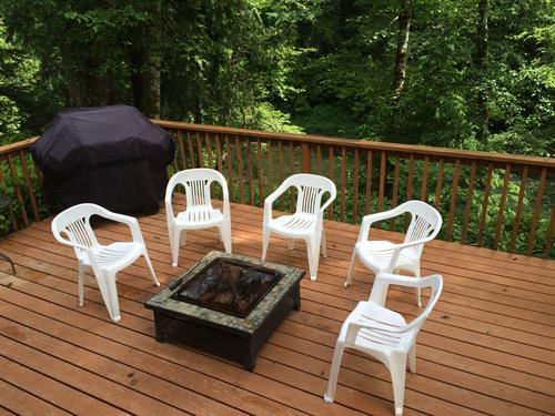 Cozy 1 - Back Deck & BBQ Overlooking the River!