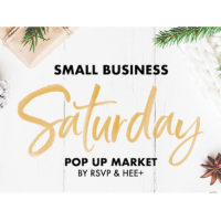 Small Business Saturday Pop Up Market