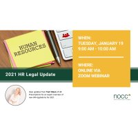 2021 HR Legal Update Webinar