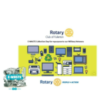 Rotary Club of Fullerton E- Waste Collection Day