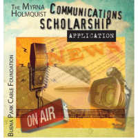 Apply for Myrna Holmquist Communications Scholarship