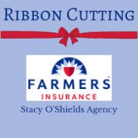 Stacy O'Shields Agency Farmers Insurance Ribbon Cutting