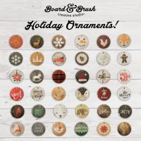Board & Brush-Ornament Make and Take