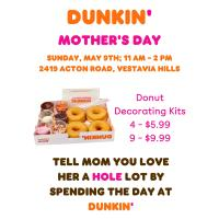 Mother's Day at Dunkin'