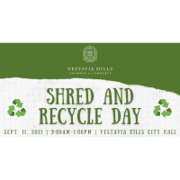 Shred and Recycle Day