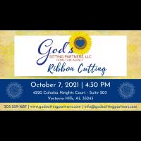 God's Sitting Partners Ribbon Cutting