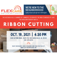 FlexCare Infusion Center Ribbon Cutting