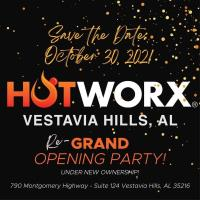 HOTWORX Re-Grand Opening Party!!