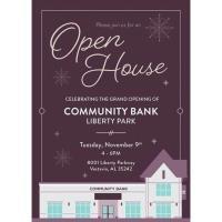 Community Bank Liberty Park Grand Opening and Ribbon Cutting