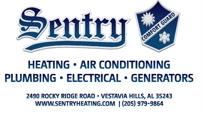 Sentry Heating, Air Conditioning, Plumbing, Electrical and Generators