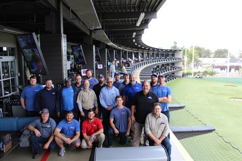 Team Day out at Top Golf