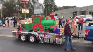 2018 Christmas Parade Float