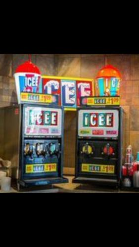 The ever popular Icee with lots of flavors