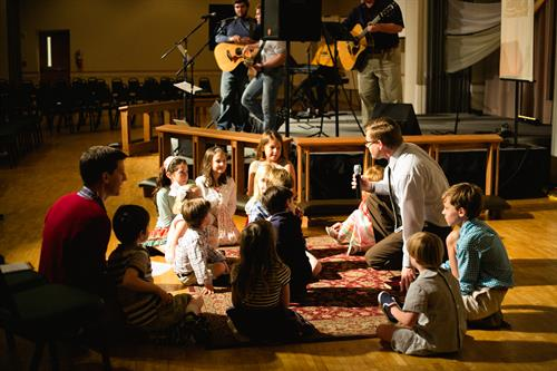 Children's Time in Contemporary Worship
