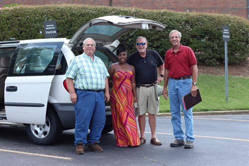 Car Ministry - a part of our Missions Ministry we are able to give cars to those in need