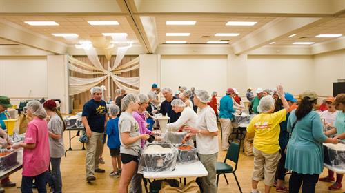 Stop Hunger Now - a VHUMC Missions Event