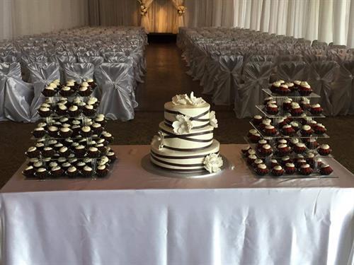 One of our many Wedding Setup options