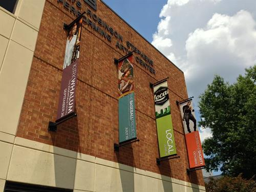 Alys Stephens Center Banners