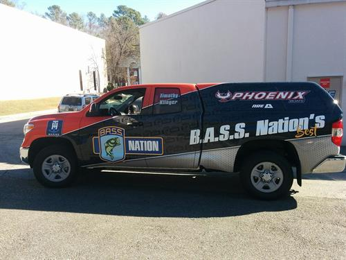 Bass Master Vehicle Wrap