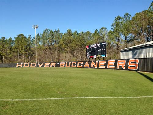 Hoover Softball Banner
