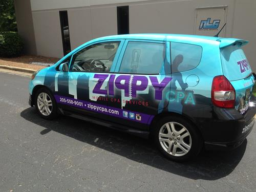 Zippy CPA Vehicle Wrap