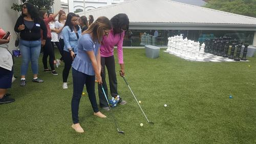 Birmingham Women in Technology Golf Clinic