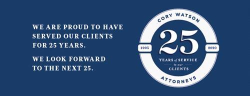 CW 25 Year Logo