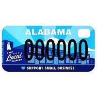 NEW CAR TAG TO SUPPORT ALABAMA SMALL BUSINESSES