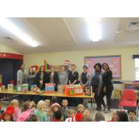 Students at Primrose School at Liberty Park Donate 328 booksTo Glenwood's Children Center in Avondal