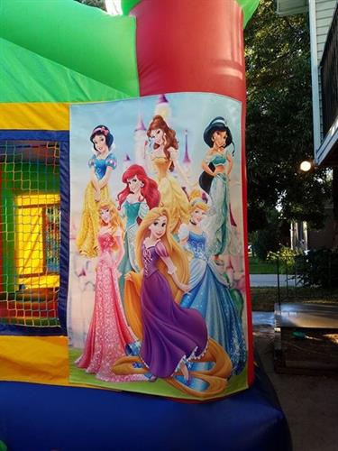 Disney princesses 2in one combo banner