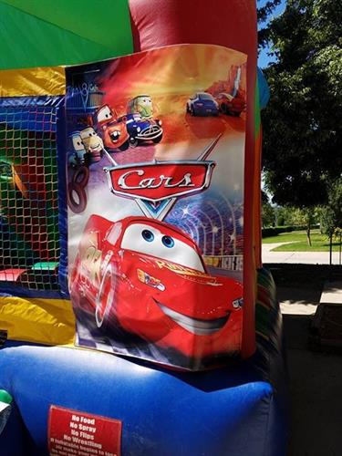 Pixar cars banner 2in one combo