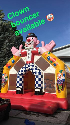 Clown  Bouncer 20'x20'